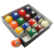 <strong>Hathaway Games</strong> Pool Table Regulation Billiard Ball Set