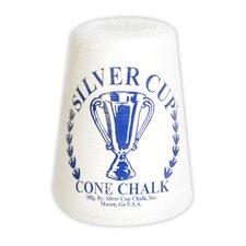 Silver Cup Cone Talc Chalk Each