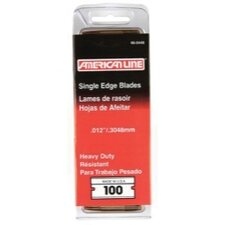 American Line 0.012 Heavy Duty Single Edge Blade