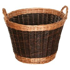 Willow Two Tone Log Basket