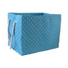 Rectangular Soft Storage in Blue Star