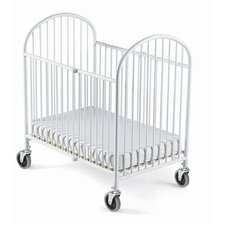 <strong>Foundations</strong> Pinnacle Folding Compact Crib and Mattress Set