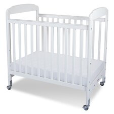 <strong>Foundations</strong> Serenity Compact Size Fixed Side Clearview Crib