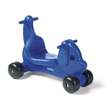 Puppy Dog Ride - On / Walker with Handles in Blue