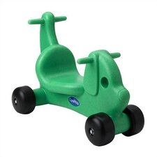 Puppy Dog Ride - On / Walker with Handles in Green
