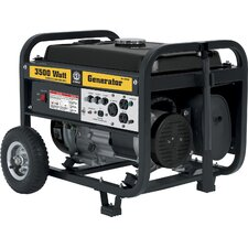 3500 Watt Generator with Mobility Cart