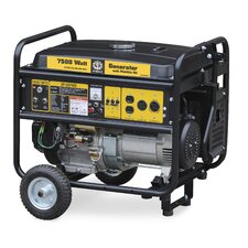 7,500 Watt Portable Electric Start Generator