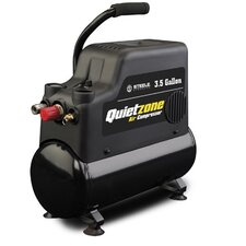 <strong>Steele Products</strong> 3 Gallon Quietzone Oil Free Air Compressor