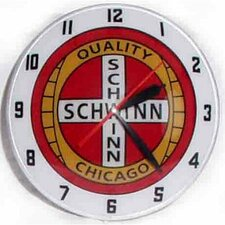 "<strong>American Retro</strong> Double Bubble 14.5"" Schwinn Wall Clock"