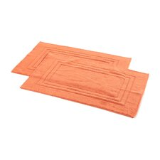 All American Cotton Line 100% Supima Cotton Bath Mat (Set of 2)