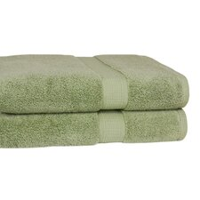 <strong>Calcot Ltd.</strong> Grower's Collection 100% Zero-Twist Supima Cotton Oversized Bath Sheet (Set of 2)