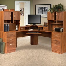 Office Adaptations L-Shape Computer Desk Office Suite