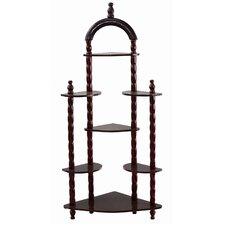 5 Tier Corner Wall Shelf