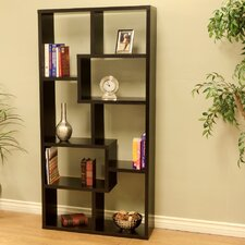 "Contemporary 70.86"" Cube Bookcase"