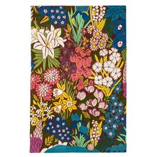 English Country Garden Traditional Rug