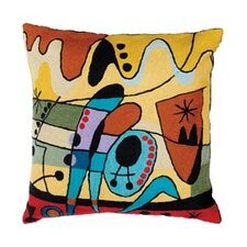 Miro Carnival Red Cushion Cover