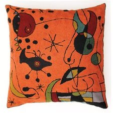 Miro Orange Cushion Cover
