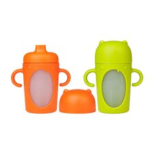 <strong>Boon</strong> Modster Sippy 10 oz Firm Spout (Set of 2)