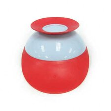 Catch Bowl with Spill Catcher in Cherry / Berry Cream