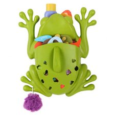 <strong>Boon</strong> Frog Pod Bath Toy Scoop in Green