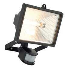 Vanguard Square 1 Light Semi-Flush Light with PIR