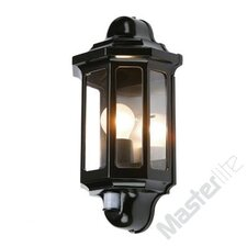 Traditional Outdoor 1 Light Flush Wall Light  with PIR Sensor