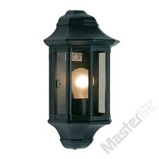 Traditional Outdoor 1 Light Flush Wall Light