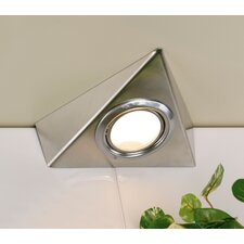 Tri Cabinet Under Cabinet Light in Silver Grey (Set of 2)