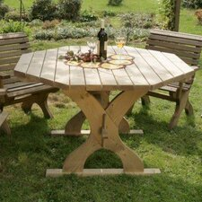 Nowy Targ Octagonal Wood Dining Table