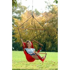 Swinger Hanging Chair Set in Red
