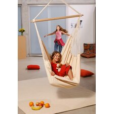 Brasil Hanging Chair Set in Natura