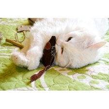 Leather Mouse Cat Toy