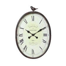 <strong>Creative Co-Op</strong> Haven Oversized Wall Clock (Set of 2)