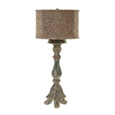 Chateau Resin Candlestick Table Lamp