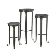 Secret Garden Plant Stands (Set of 3)
