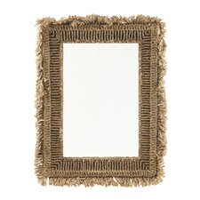 Sanctuary Fringed  Mirror