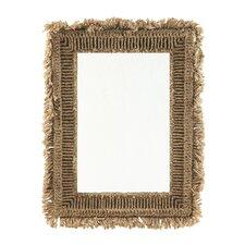 Sanctuary Fringed Mirror
