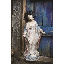 Chateau Virgin Mary Statue