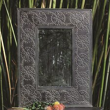 Turn of the Century Embossed Metal Frame Mirror
