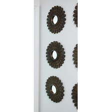Chateau MDF Sunburst Mirror (Set of 3)