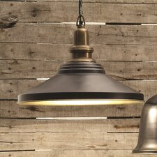 <strong>Creative Co-Op</strong> Uptown 2-Tone Hanging Pendant (Set of 2)