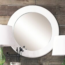 <strong>Creative Co-Op</strong> Uptown MDF Round Mirror