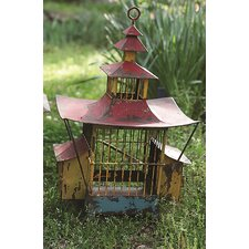 Turn of the Century Free Standing Birdhouse