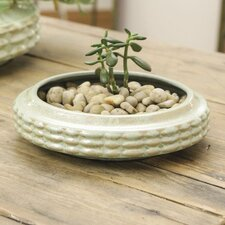 <strong>Creative Co-Op</strong> Cosmopolitan Round Pot Planter