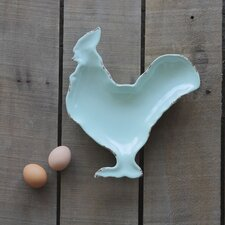 "Casual Country 10"" Rooster Plate"