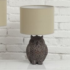 "Haven 12.99"" H Table Lamp with Drum Shade"