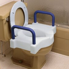 Extra WideTall-Ette Raised Toilet Seat