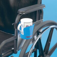 <strong>Ableware</strong> Bag of Three Wheelchair Cup Holder