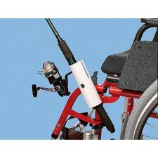 Fishing Pole Holder For Wheelchair