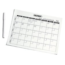 Write On and Wipe Off Calendar Task Aid